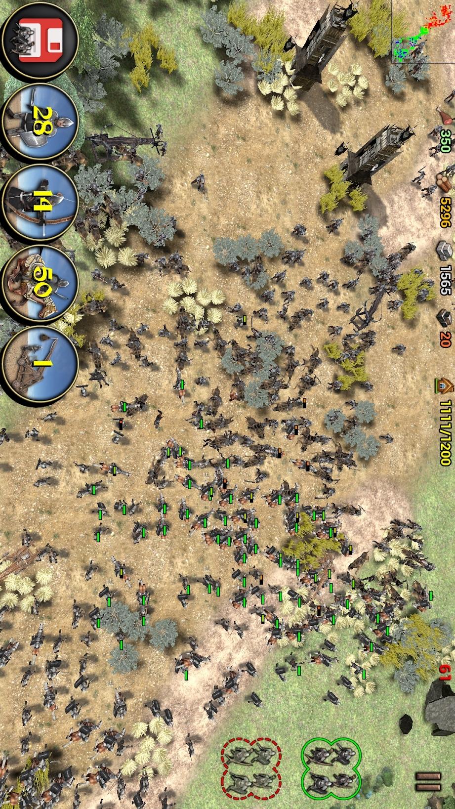 帝国之影:RTS游戏截图