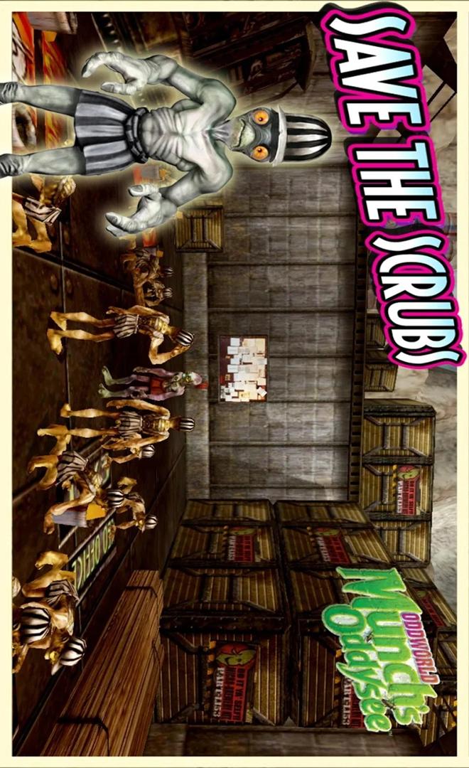 奇异世界:蒙克历险记游戏截图