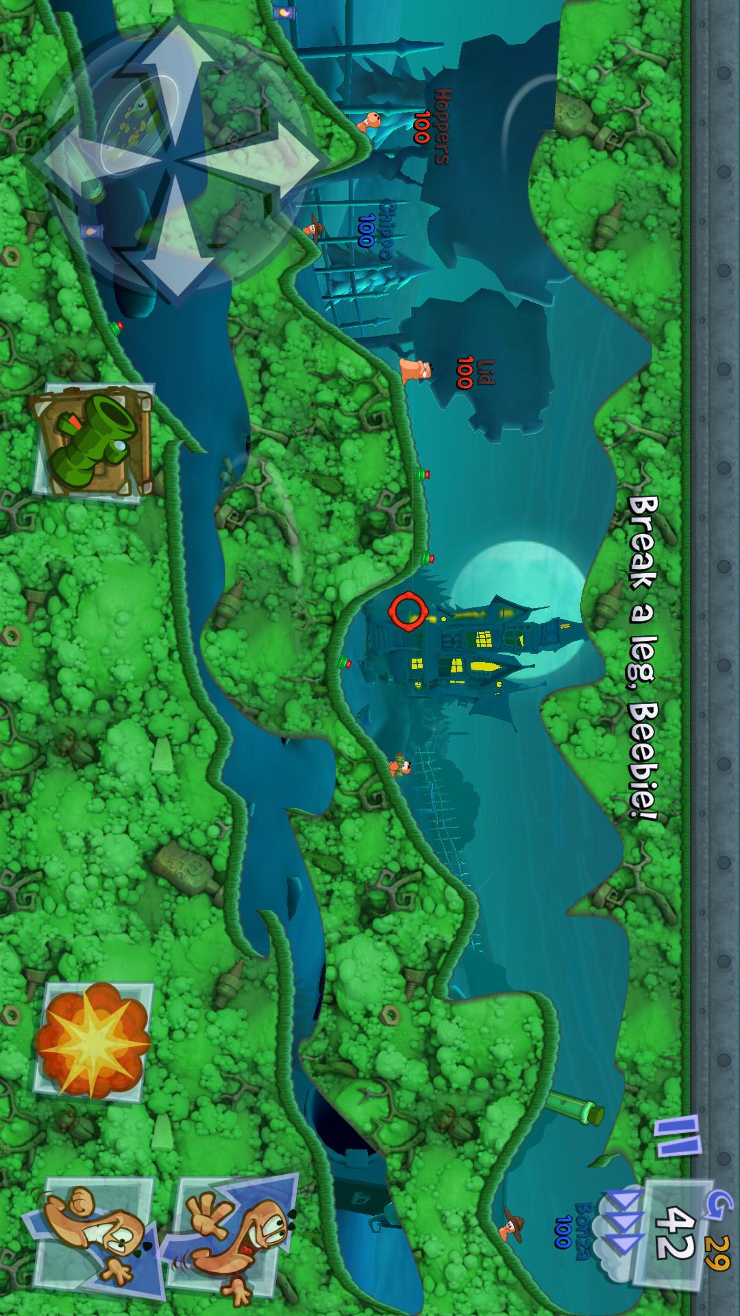 百战天虫3游戏截图