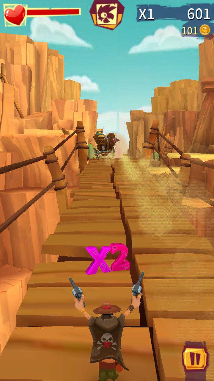 跑和射击:仇敌游戏截图