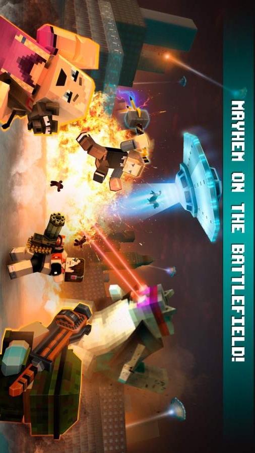 我的世界疯狂枪战(大逃杀模式)游戏截图