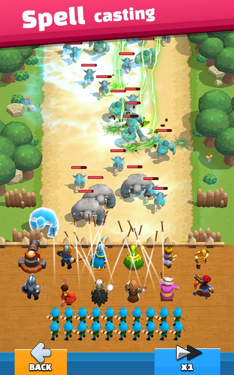 野生城堡无限钻石金币最新破解版游戏截图