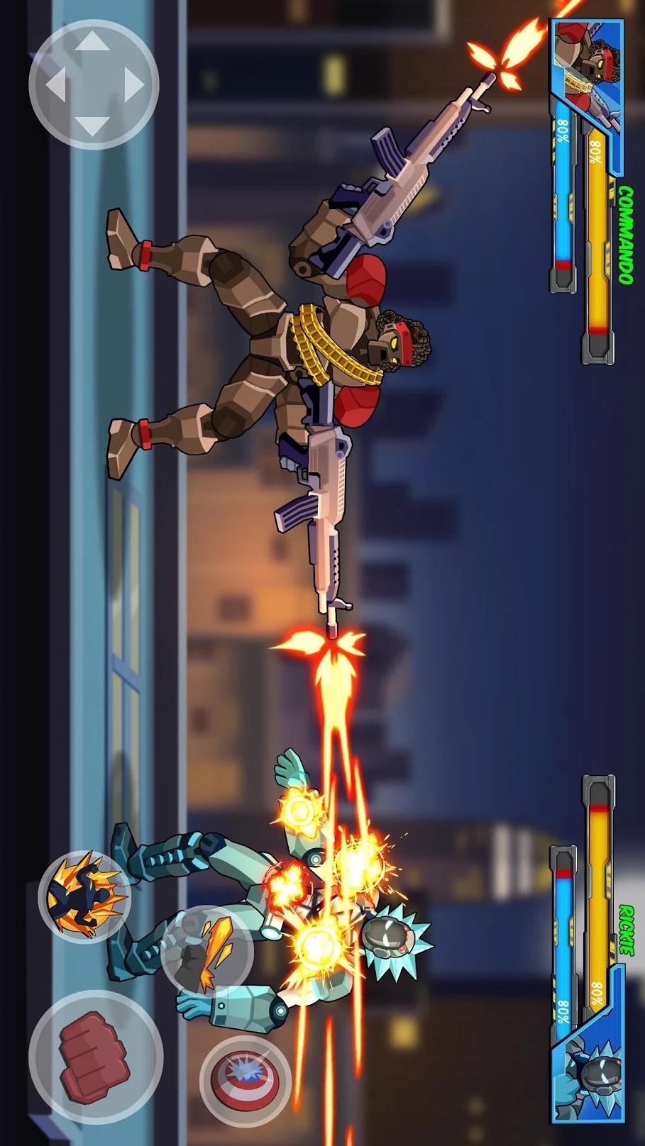 超级机器人英雄格斗游戏截图
