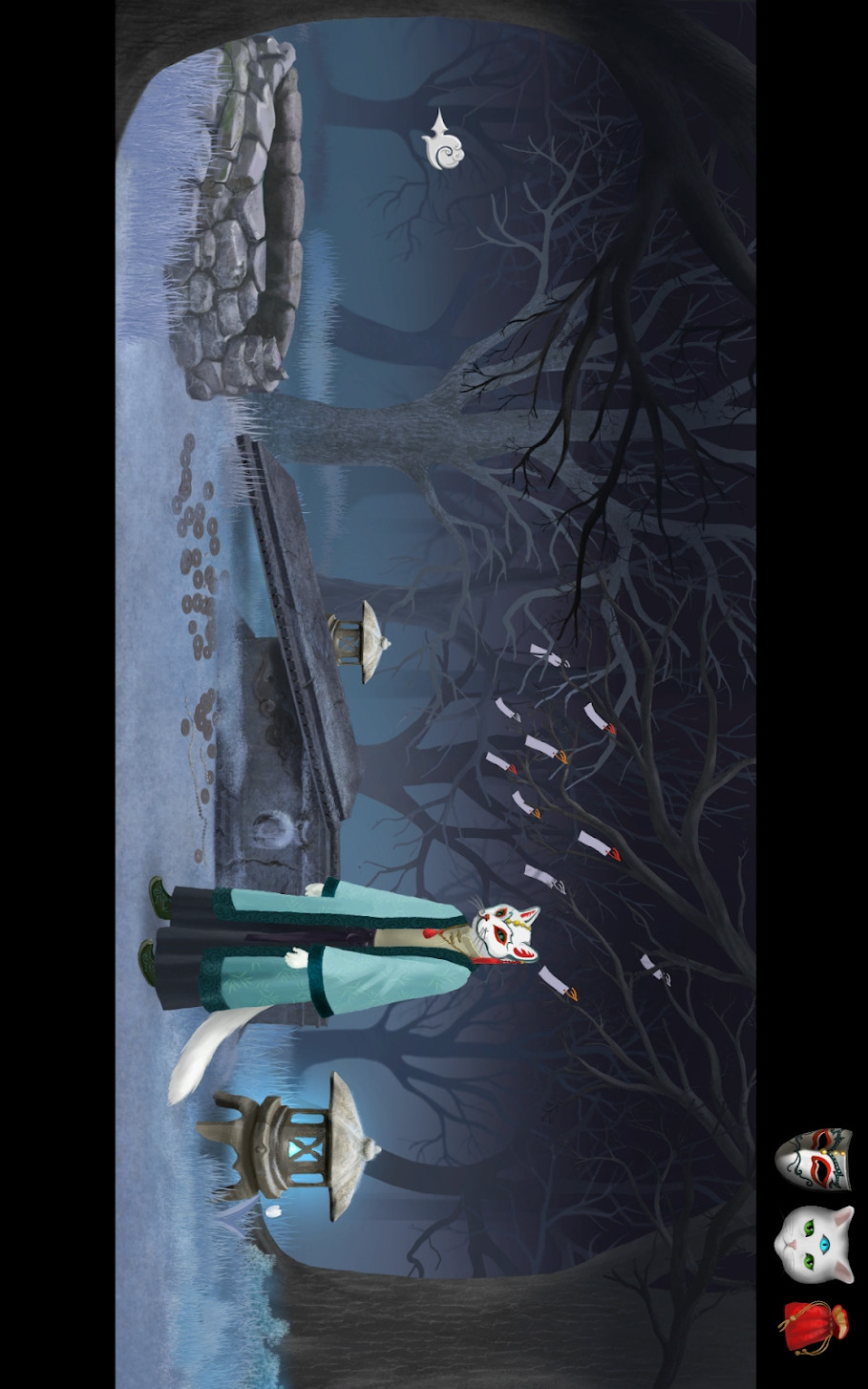 猫与幽灵之路游戏截图