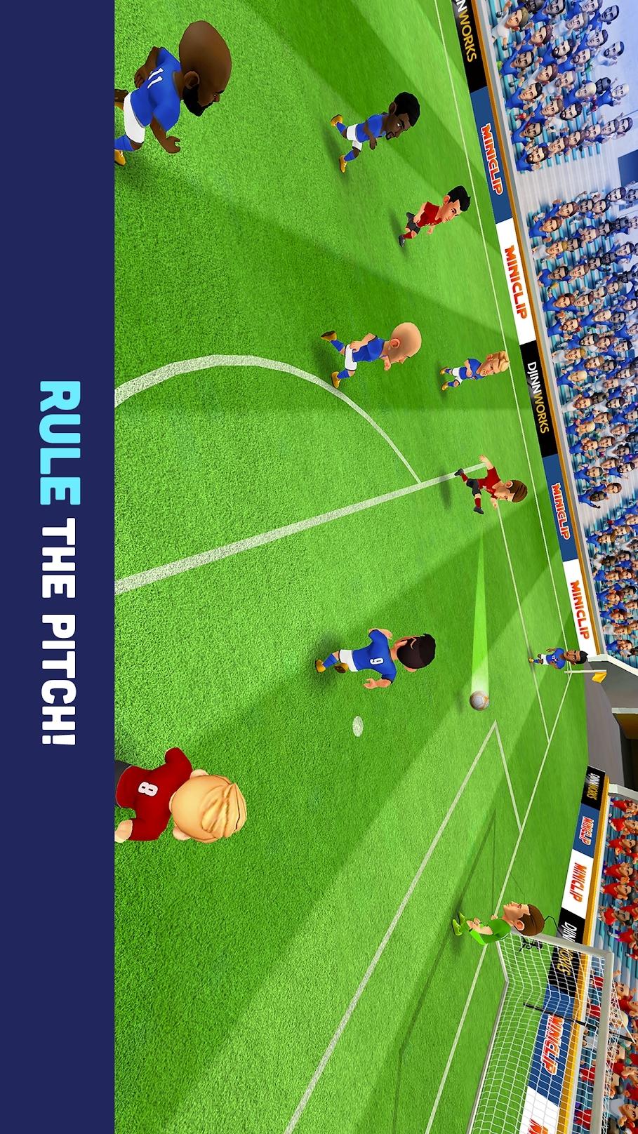 迷你足球游戏截图