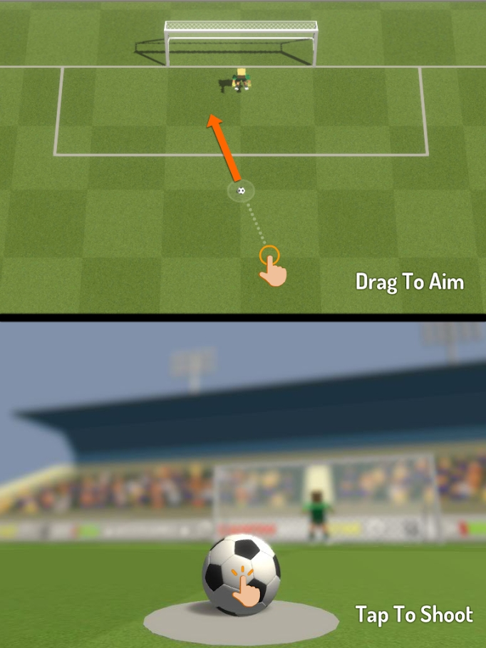冠军足球明星游戏截图