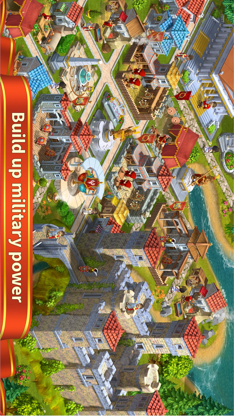 罗马帝国的崛起游戏截图
