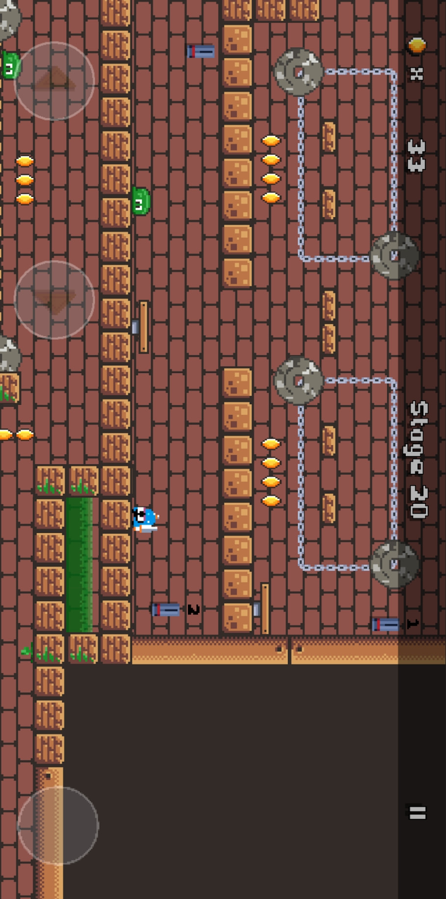 小小像素战士游戏截图
