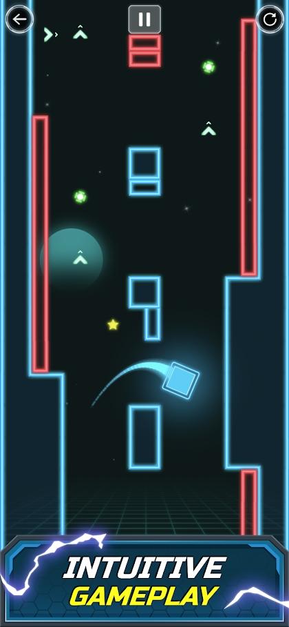 方块跳跃游戏截图