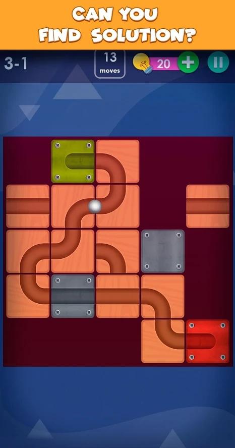 智能拼图游戏截图