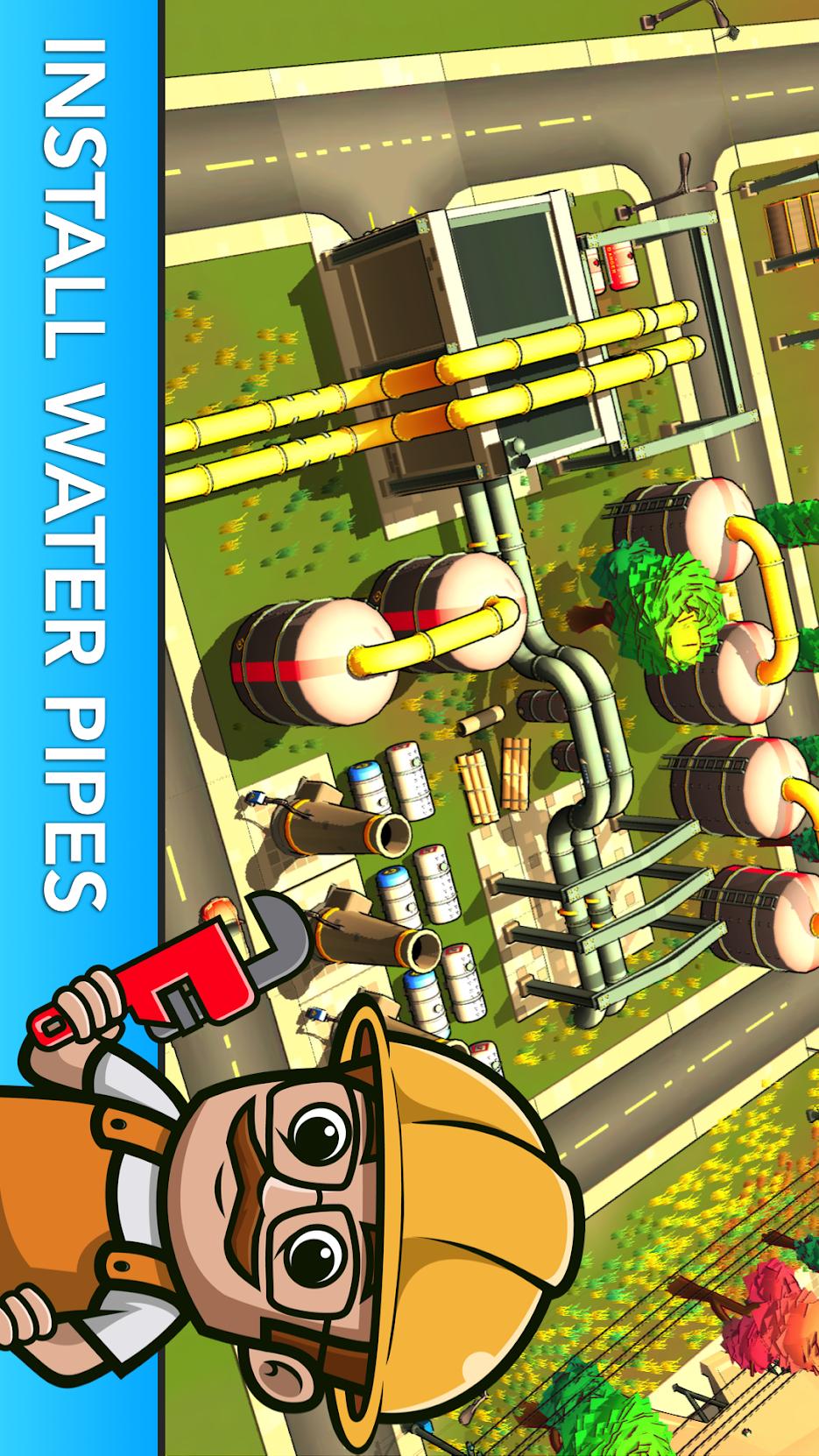 小业主:空闲城市模拟游戏截图
