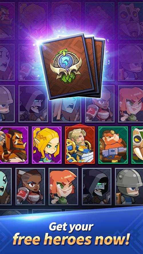 地牢战术:AFK放置型英雄养成游戏截图