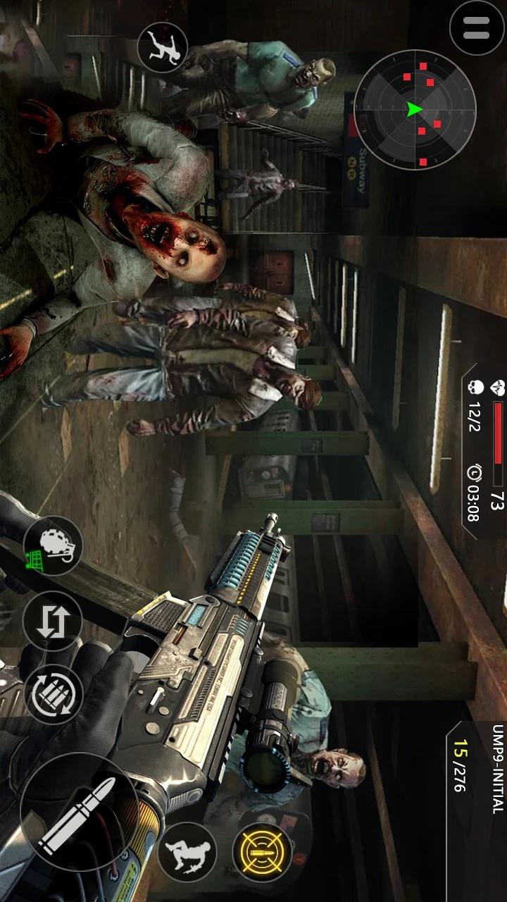死亡僵尸射击3游戏截图