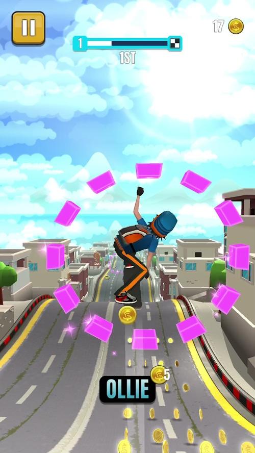 菲利滑板2游戏截图