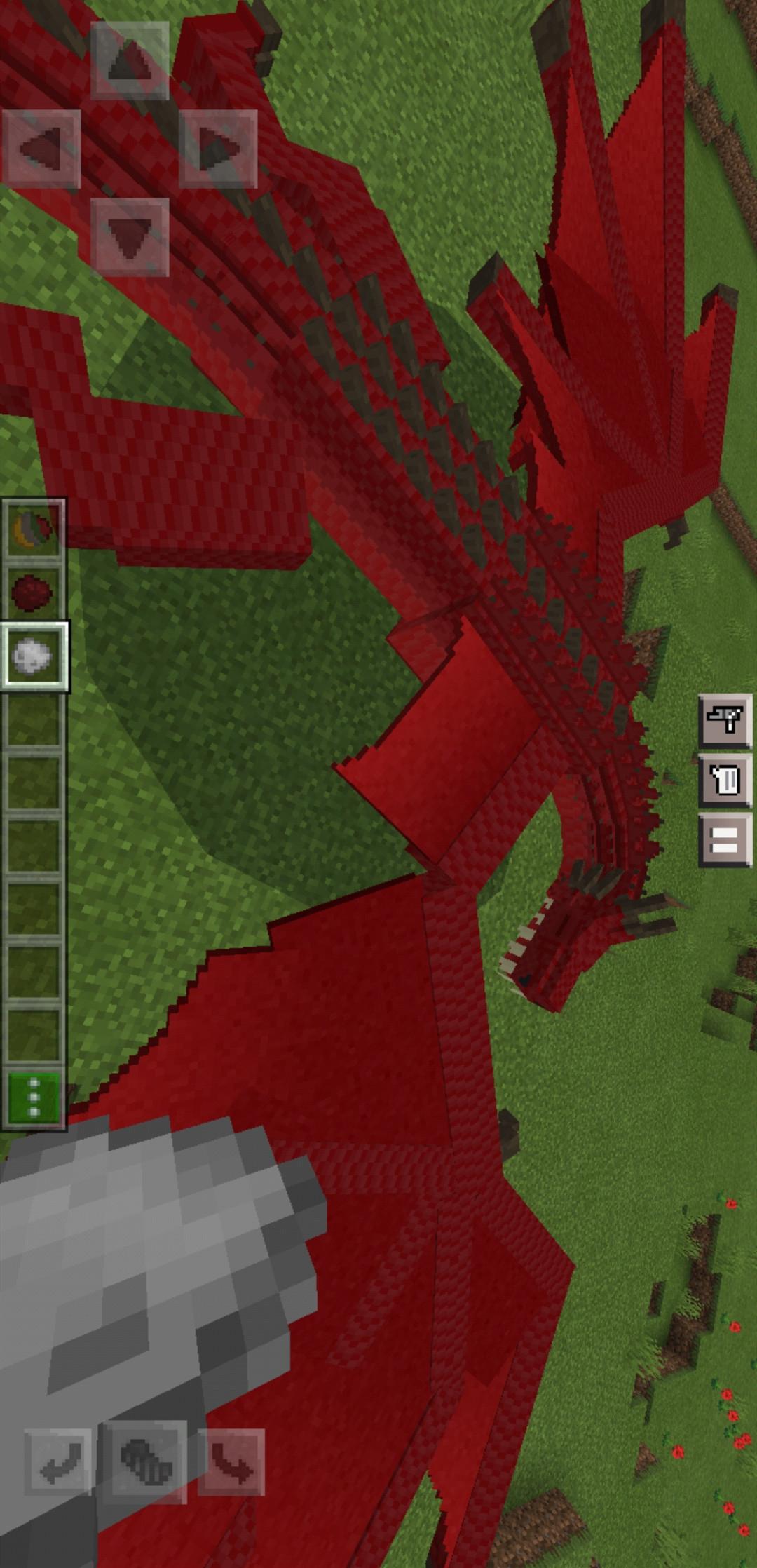 我的世界(龙的统治模组和索尼克地图)游戏截图