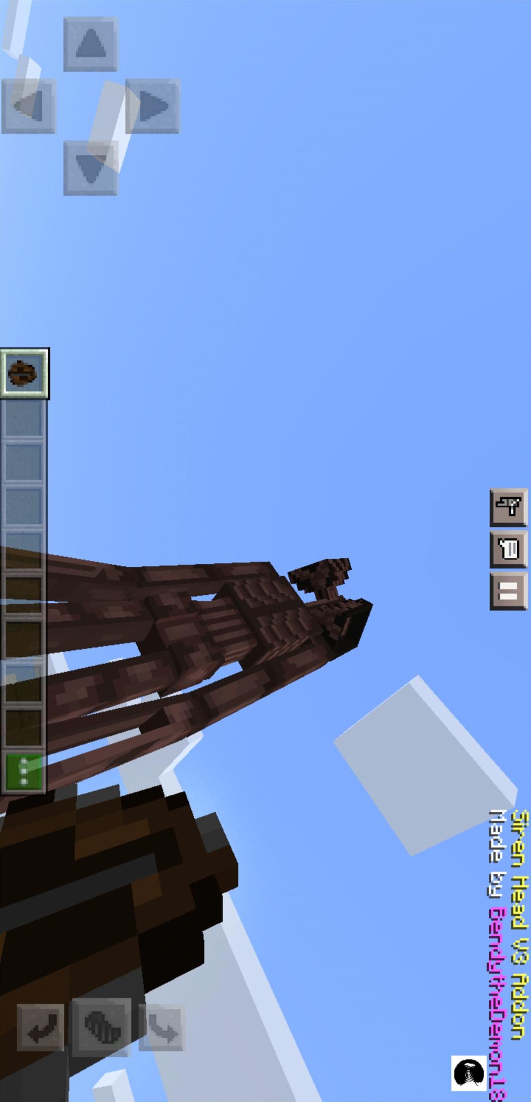 我的世界(警笛头模组和死亡之塔跑酷地图)游戏截图