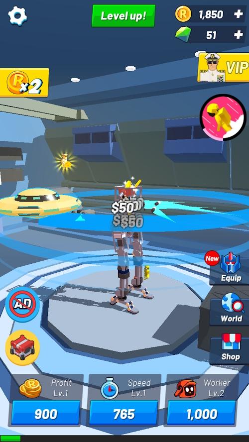 放置机器人大亨游戏截图