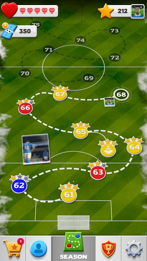 足球英雄2游戏截图