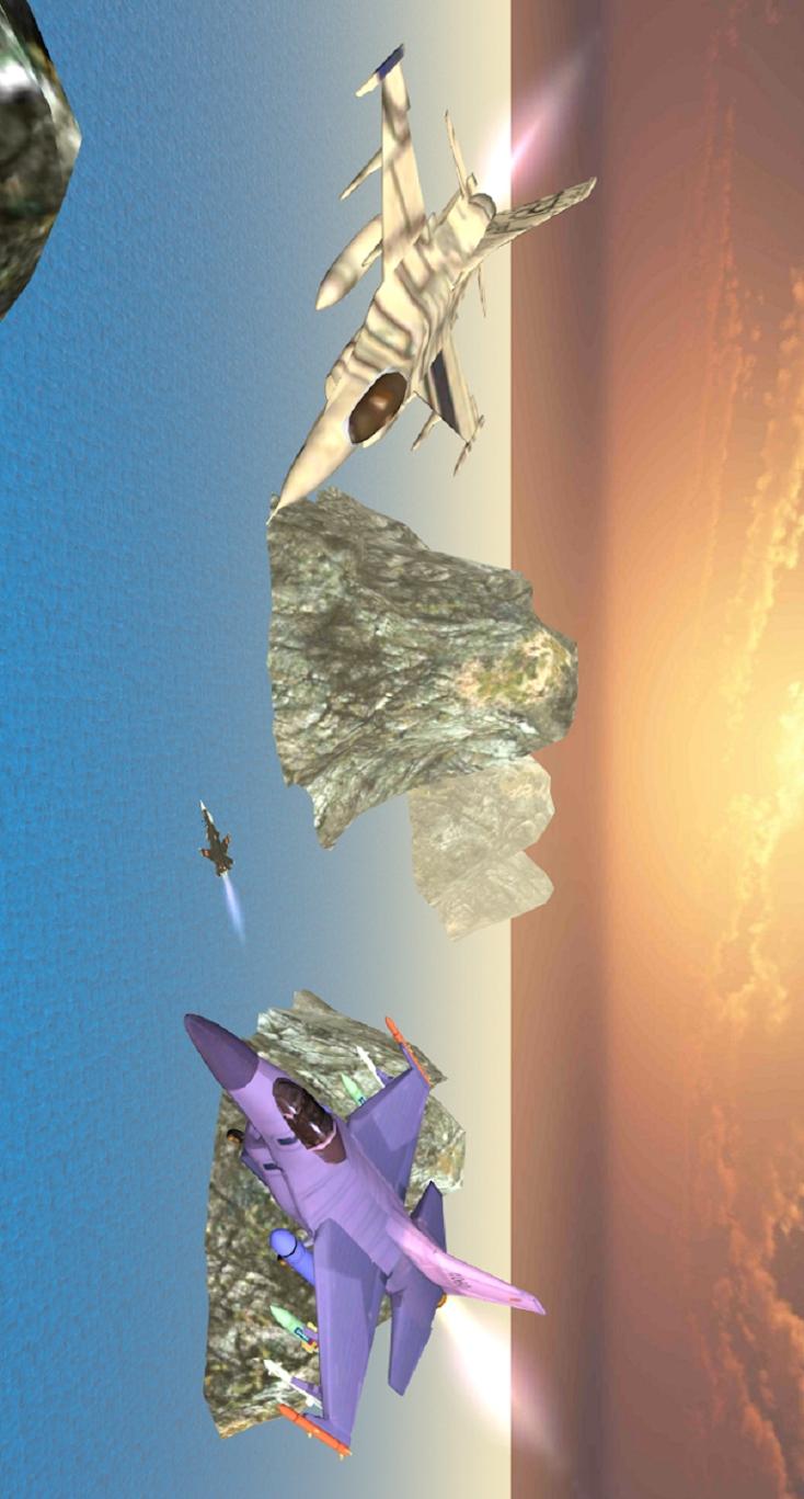 战斗机空袭:炮舰之战游戏截图