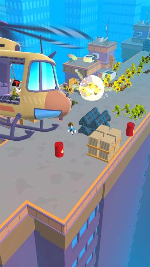 直升机逃脱3D游戏截图