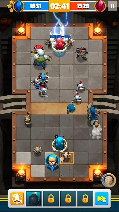 地砖竞技场游戏截图