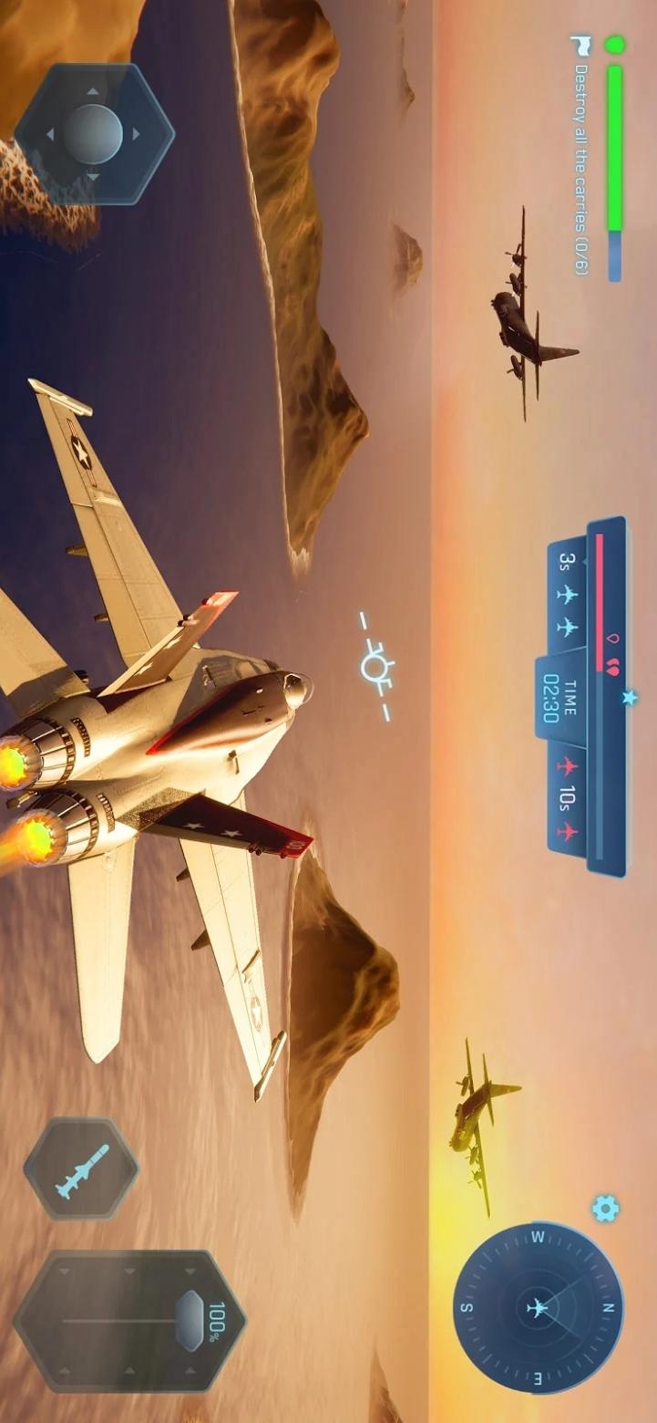天空勇士:空中冲突游戏截图