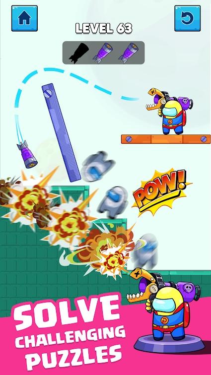 火箭战争:冒名顶替者之战游戏截图