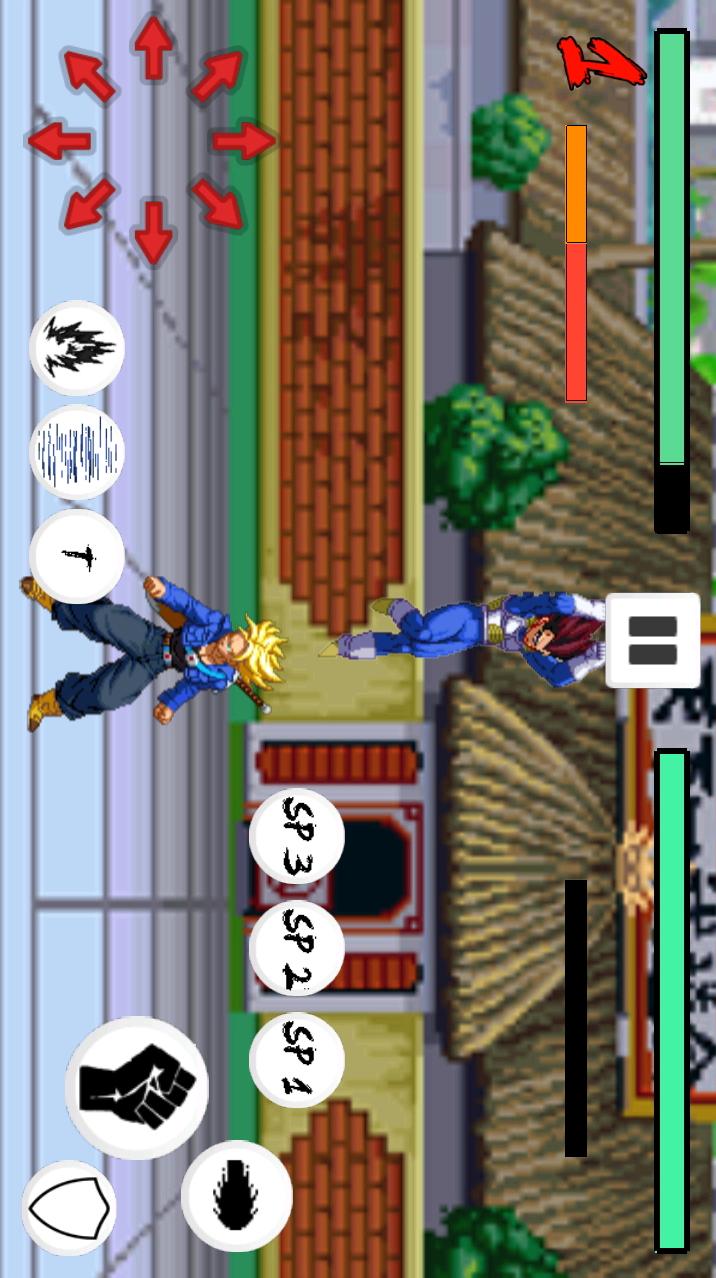 龙珠Z格斗2mugen游戏截图