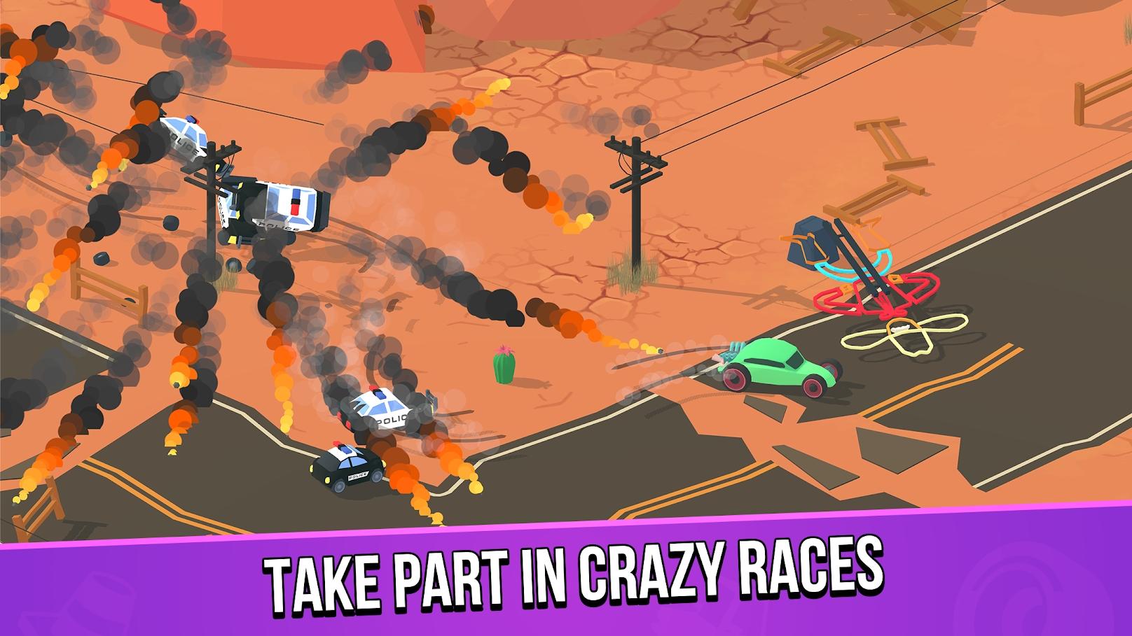 粉碎赛车游戏截图