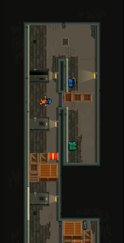 迷你监狱大逃杀游戏截图