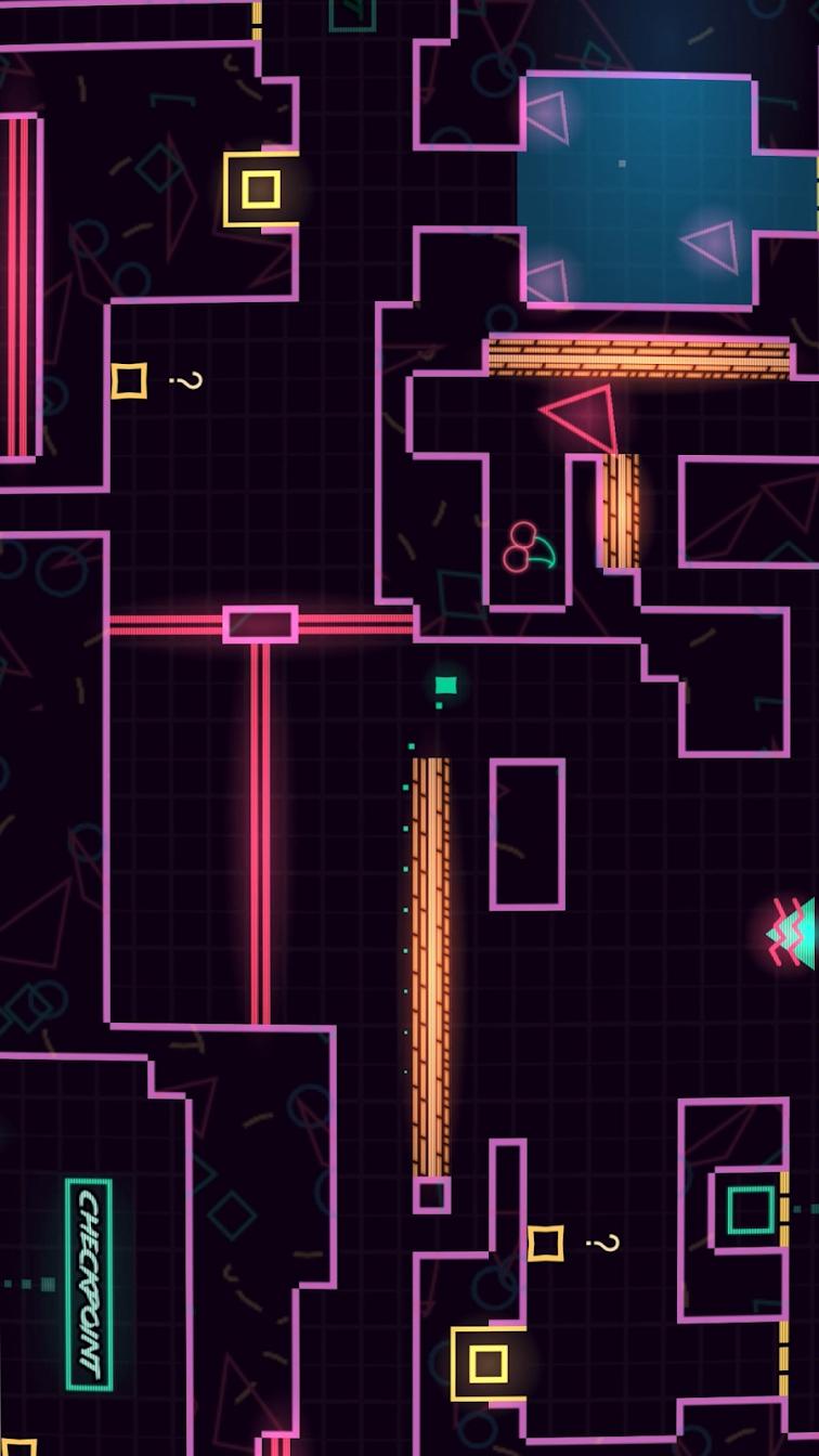 霓虹巨塔VS小方块游戏截图