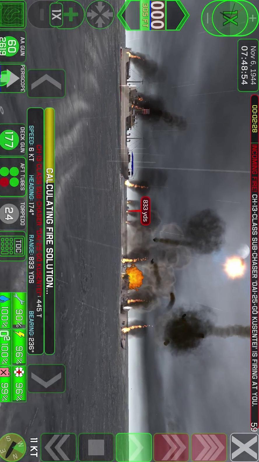 战术潜艇2游戏截图