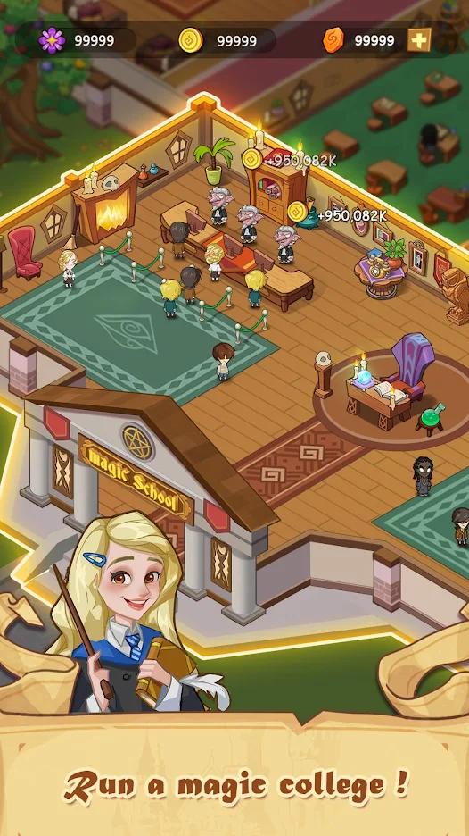 放置魔法学校游戏截图