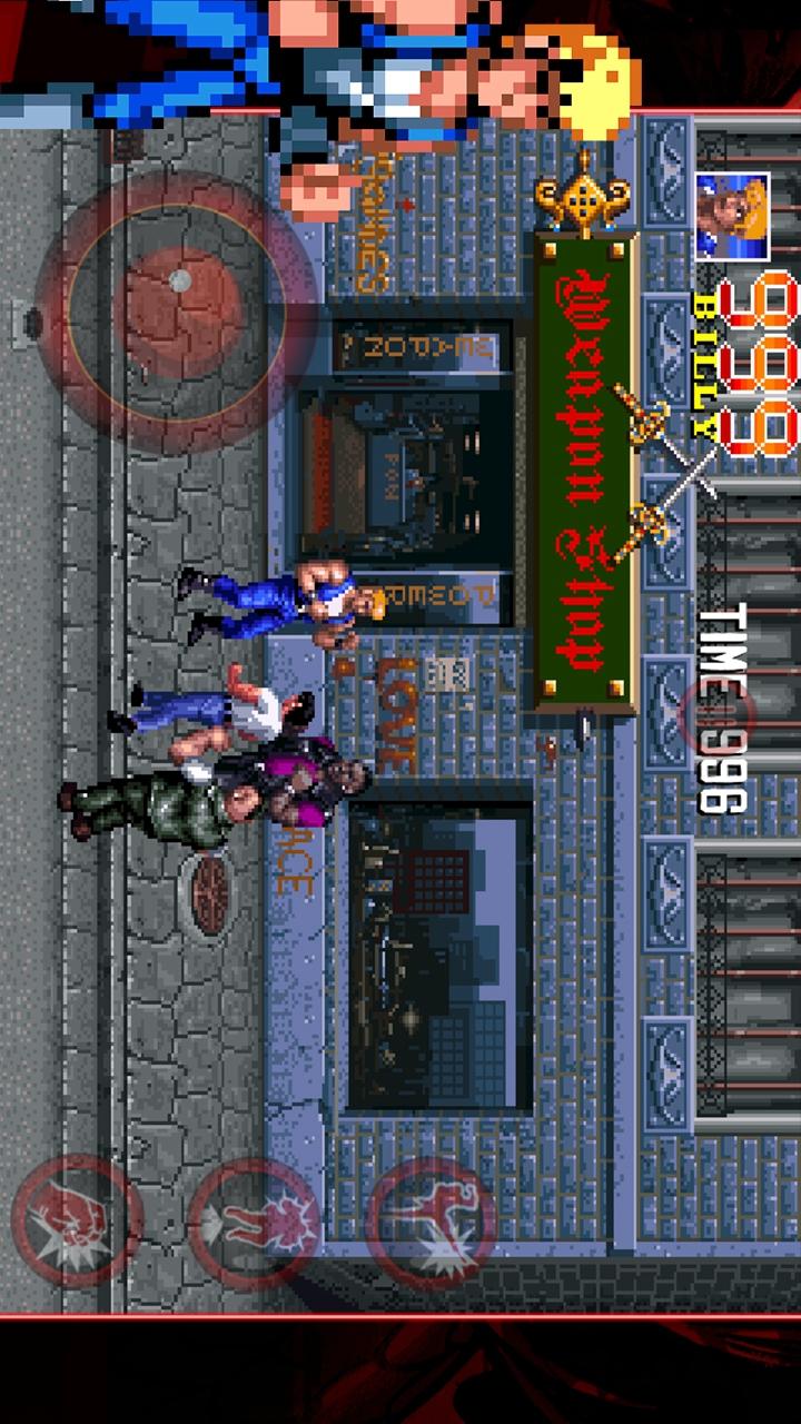 双截龙三部曲游戏截图